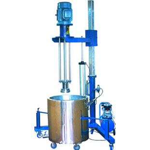 Pneumatic Lift Highs Shear Mixer