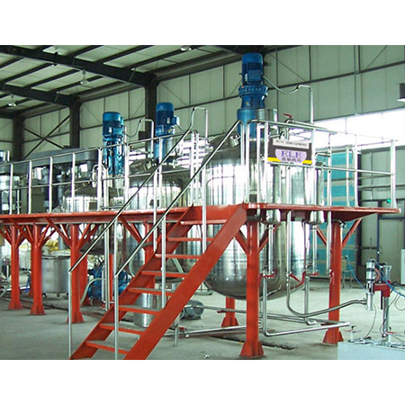 Output 1000ton Complete Paint Production Line