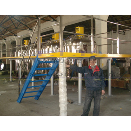 Output 10000ton Paint Production Line